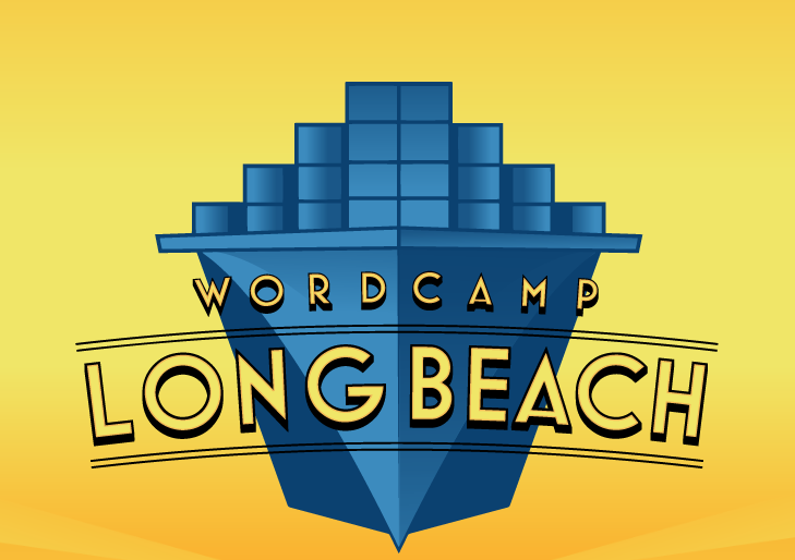 wordcamp long beach logo